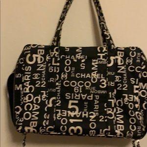 Vintage CHANEL Travel bag Very rare